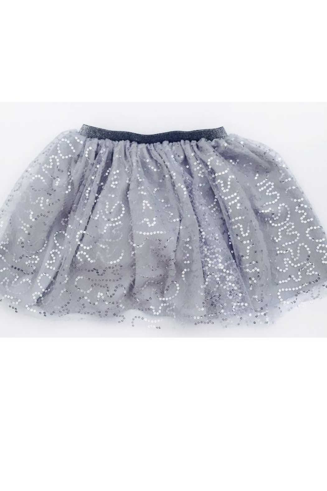 PPoT Kids Gray Tutu Skirt - Front Cropped Image