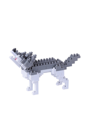 Nanoblock Gray Wolf - Product Mini Image