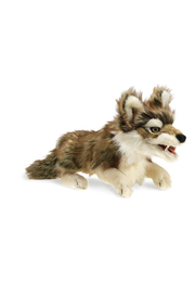 Folkmanis Gray Wolf Puppet - Product Mini Image