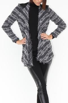 Shoptiques Product: Eyelash Stripe Cardigan