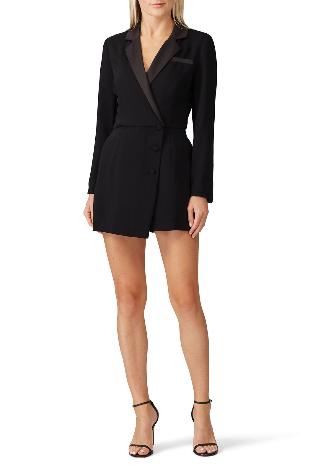 Adelyn Rae Grayson Suit Romper - Main Image