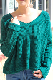MinkPink Grayson Waffle Knit Sweater - Other
