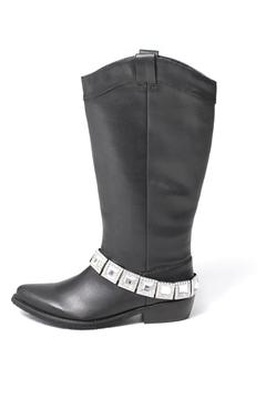 Grazie Black Rhinestone Boot - Product List Image