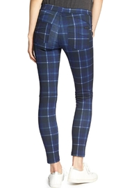 Sanctuary Grease Plaid Leggings - Side cropped