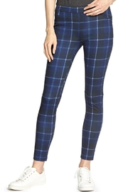 Sanctuary Grease Plaid Leggings - Front cropped
