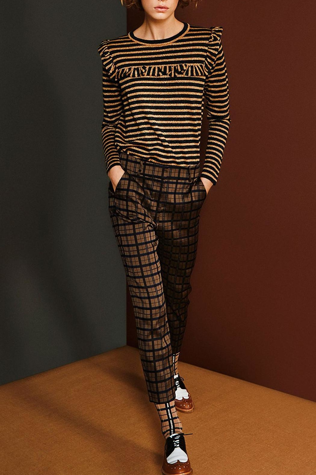 Munthe Great Cropped Pants - Front Full Image