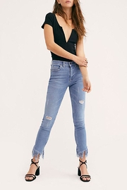 Free People Great-Heights Frayed Skinny-Jean - Front cropped