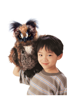 Folkmanis Great Horned Owl Puppet - Alternate List Image