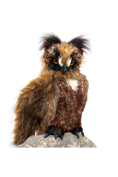 Folkmanis Great Horned Owl Puppet - Product List Image