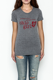 Great To Be Here Ohio Crew Tee - Front full body
