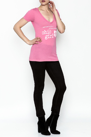 Great To Be Here Ohio V Neck Tee - Side cropped