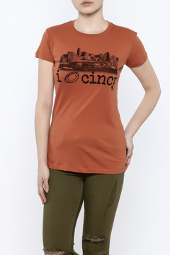 Great to Be Here Tees Cincy Football Tee - Product List Image