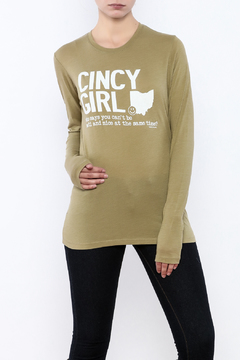 Great to Be Here Tees Cincy Girl Long sleeve - Product List Image