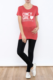Great to Be Here Tees Cincy Girl Short sleeve - Front full body