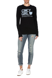 Great to Be Here Tees Crewneck Cincy Tee - Front full body