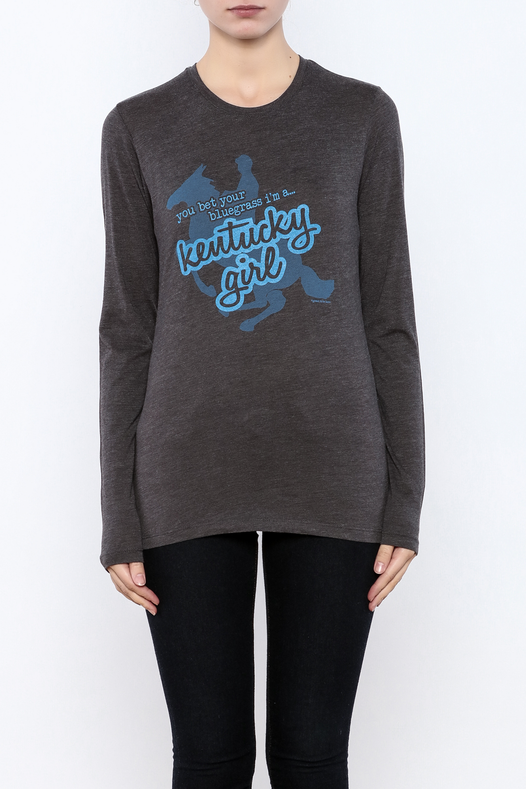 Great to Be Here Tees Kentucky Girl Long sleeve - Side Cropped Image