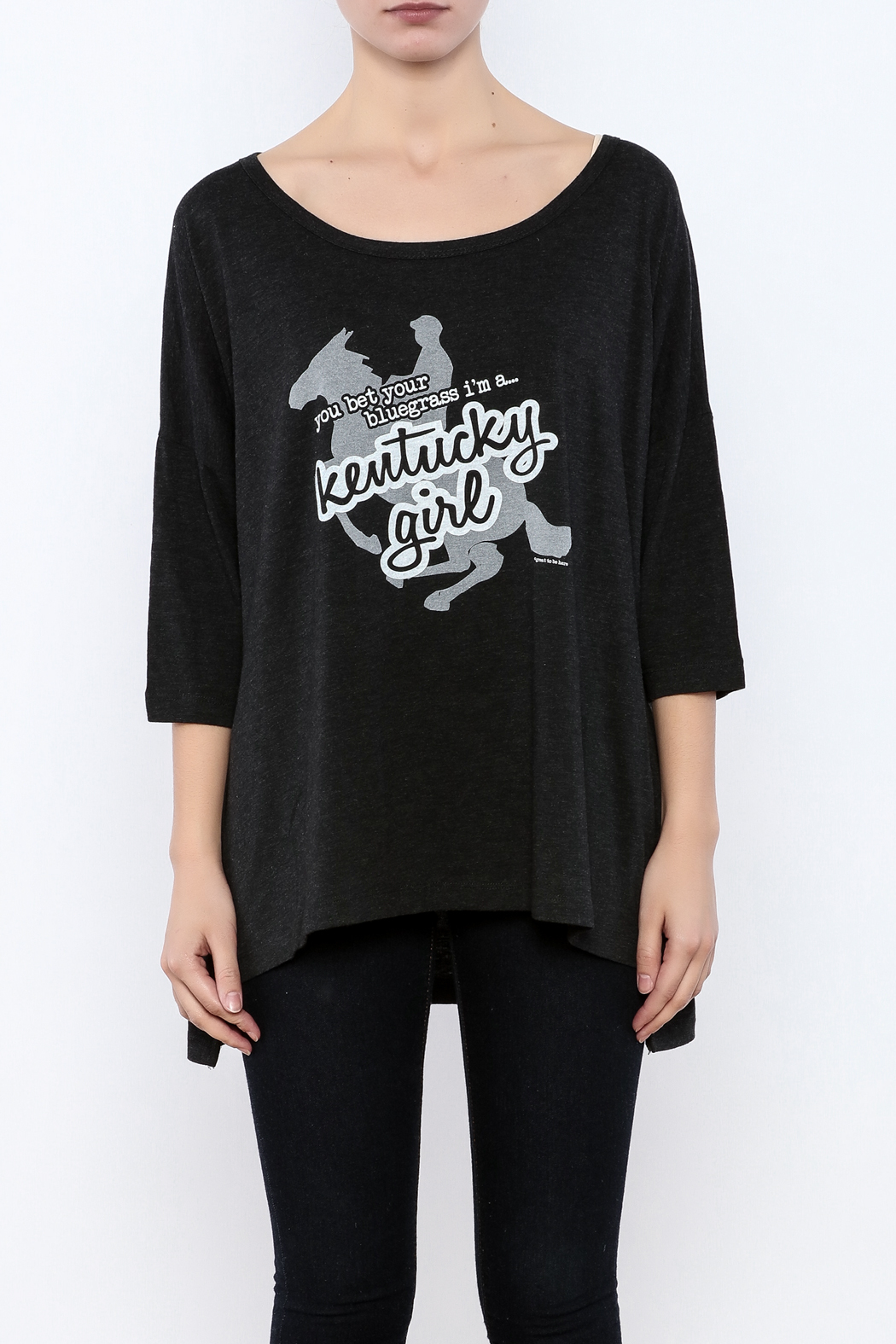 Great to Be Here Tees Kentucky Girl Tunic - Side Cropped Image