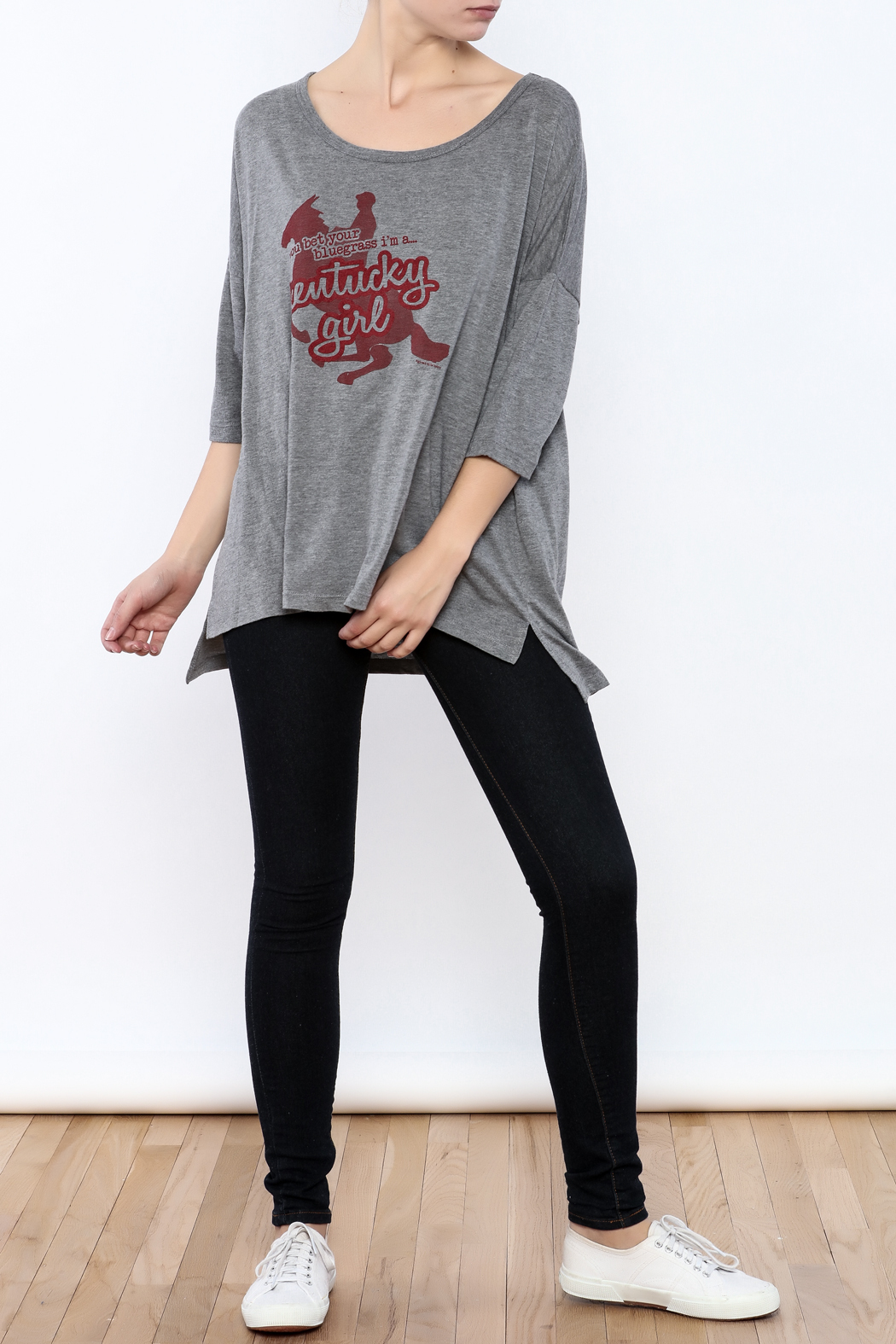 Great to Be Here Tees Kentucky Girl Tunic - Front Full Image