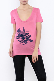 Great to Be Here Tees Kentucky Girl v-neck - Front cropped