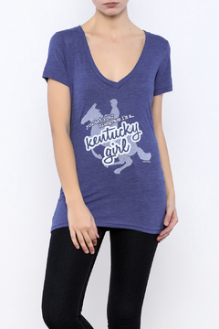 Great to Be Here Tees Kentucky Girl v-neck - Product List Image
