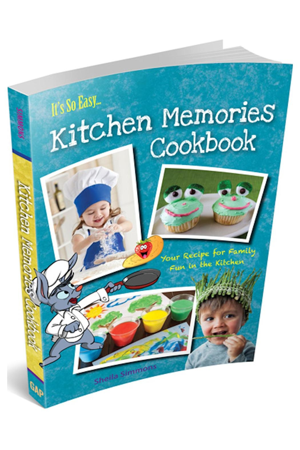 Great American Publishers Kitchen Memories Cookbook - Main Image