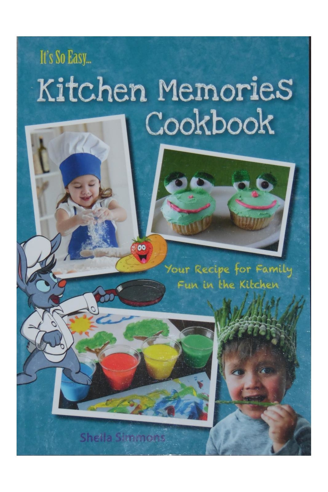 Great American Publishers Kitchen Memories Cookbook - Back Cropped Image