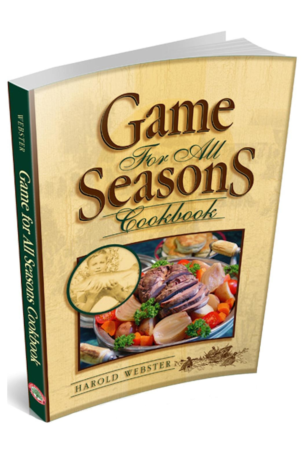 Great American Publishers Wild Game Cookbook - Main Image