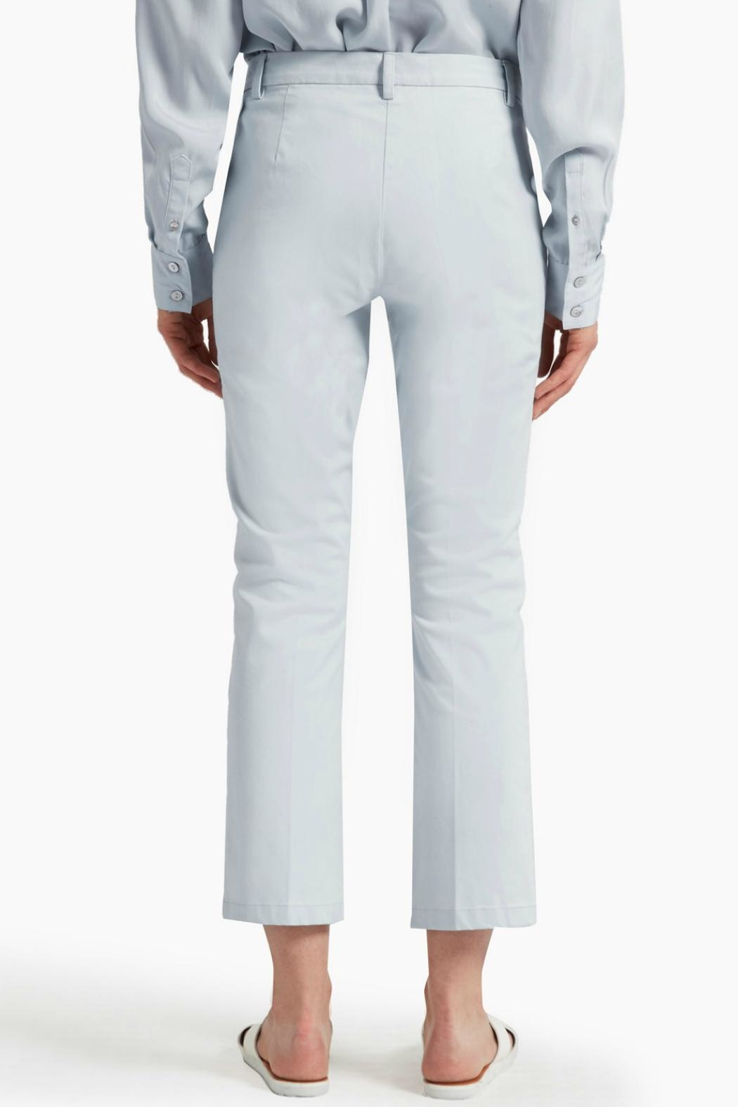 Great Plains Blue Flared Trousers - Front Full Image