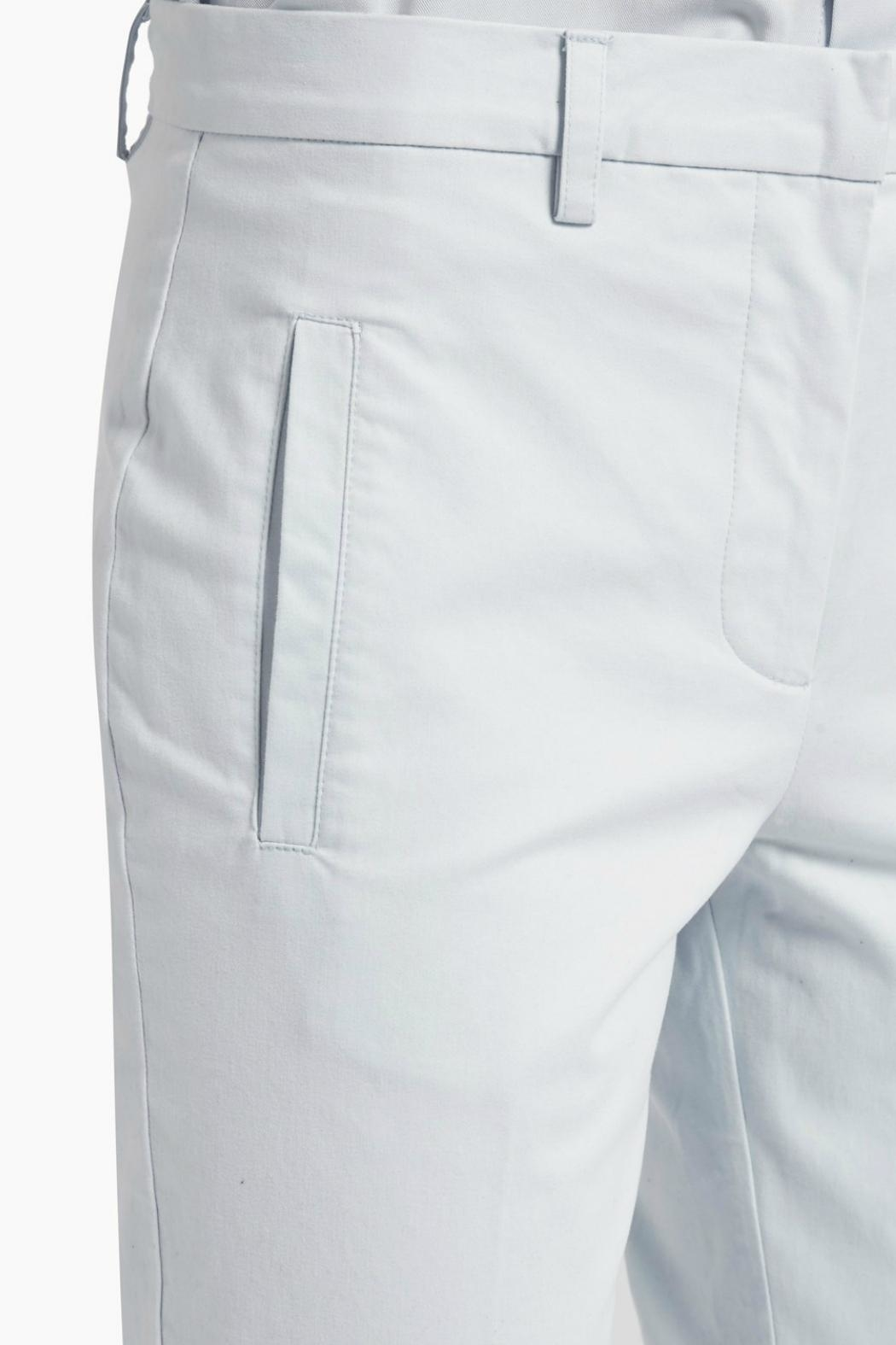 Great Plains Blue Flared Trousers - Side Cropped Image