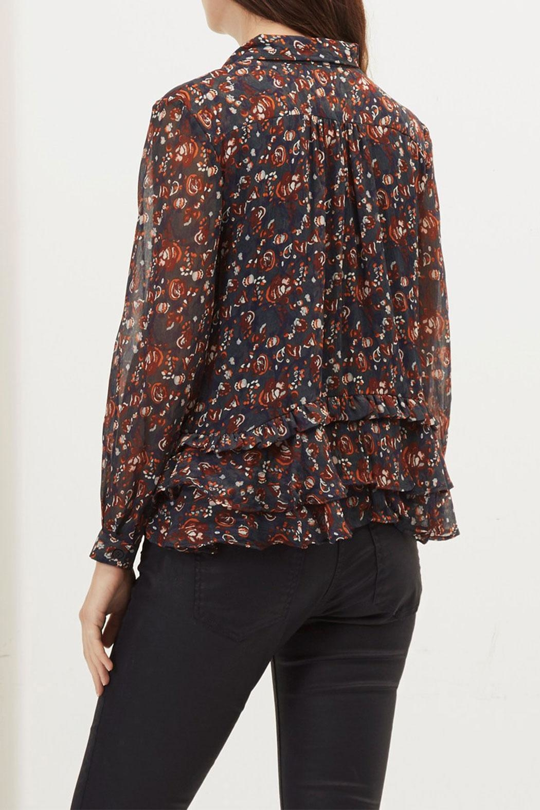 Great Plains Highland Tassle Blouse - Side Cropped Image