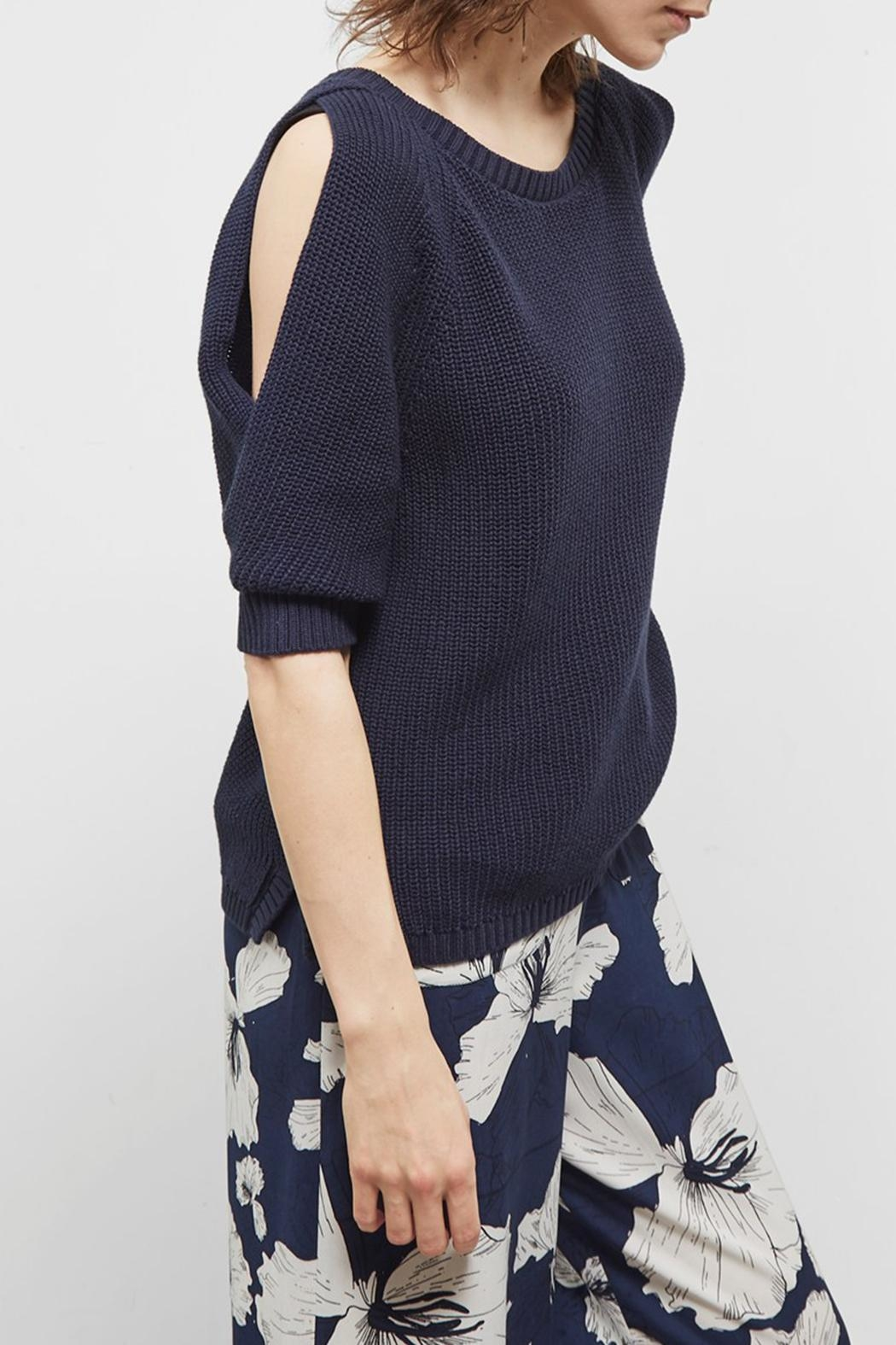 Great Plains Kendall Cotton Jumper - Side Cropped Image