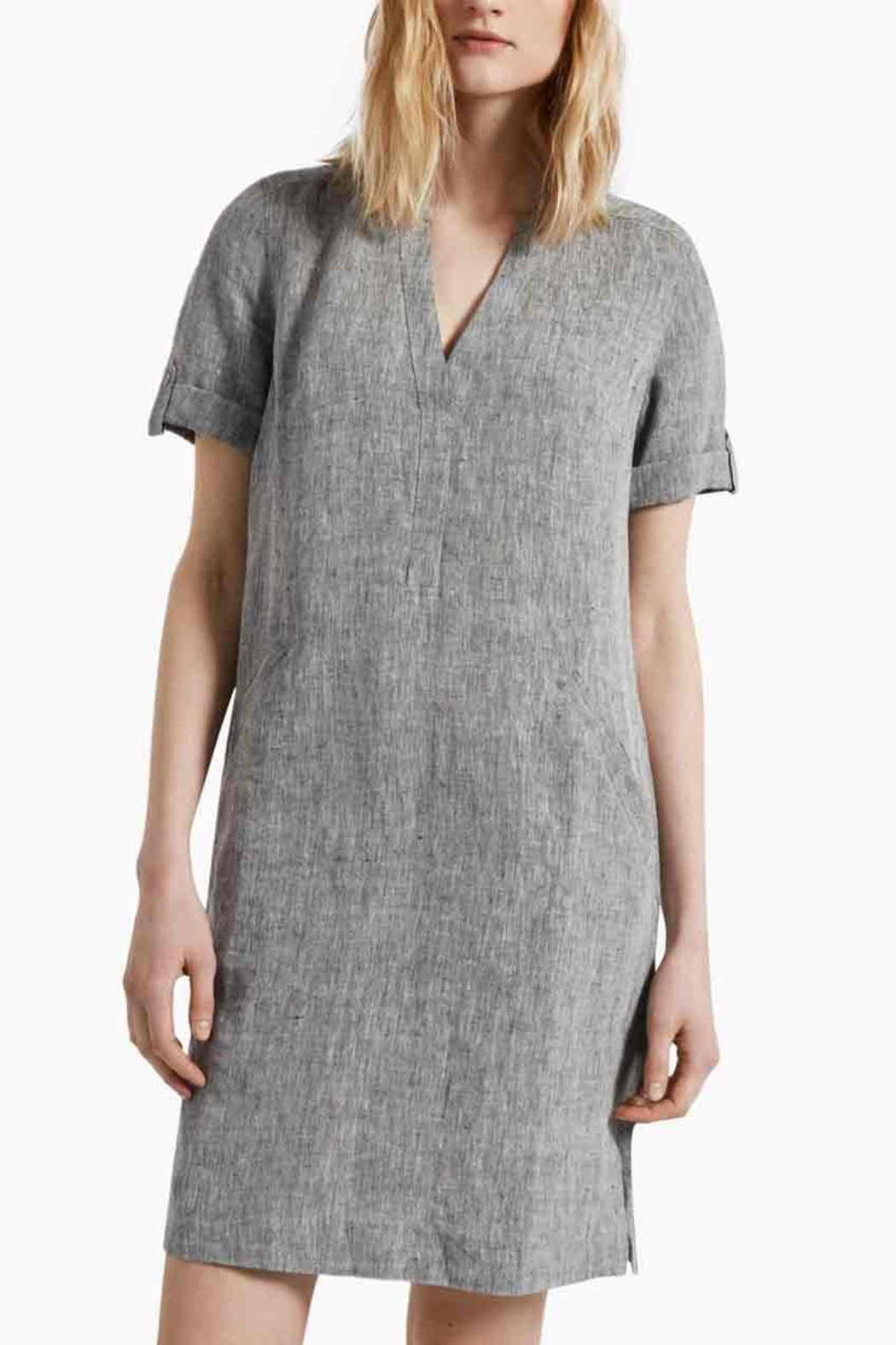 Great Plains Linen Smock Dress - Front Cropped Image