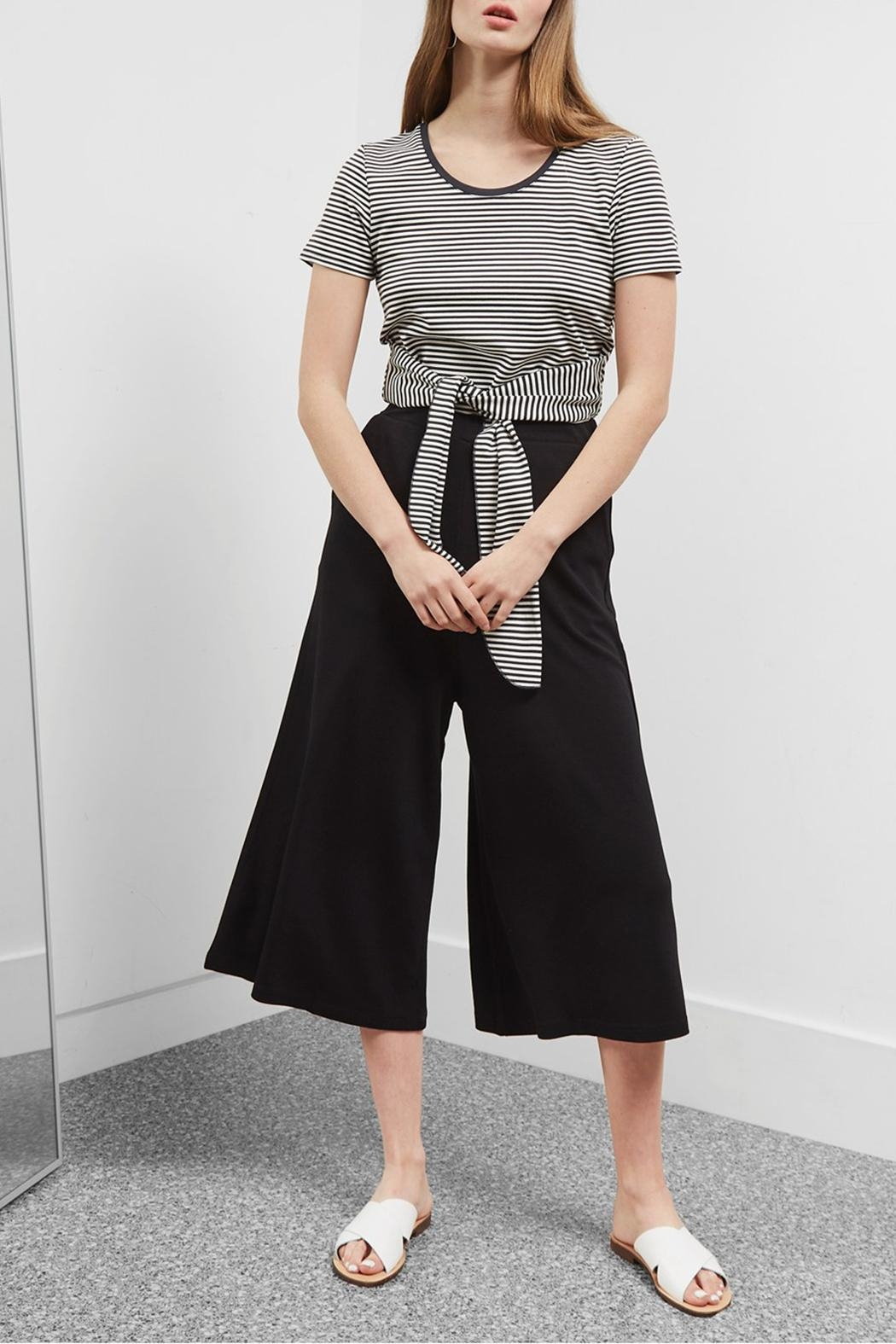 Great Plains Polly Ponte Culottes - Front Full Image