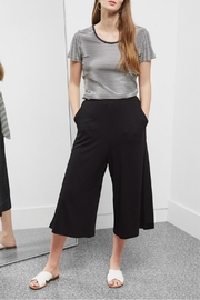 Great Plains Polly Ponte Culottes - Front cropped