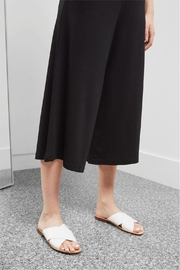 Great Plains Polly Ponte Culottes - Back cropped