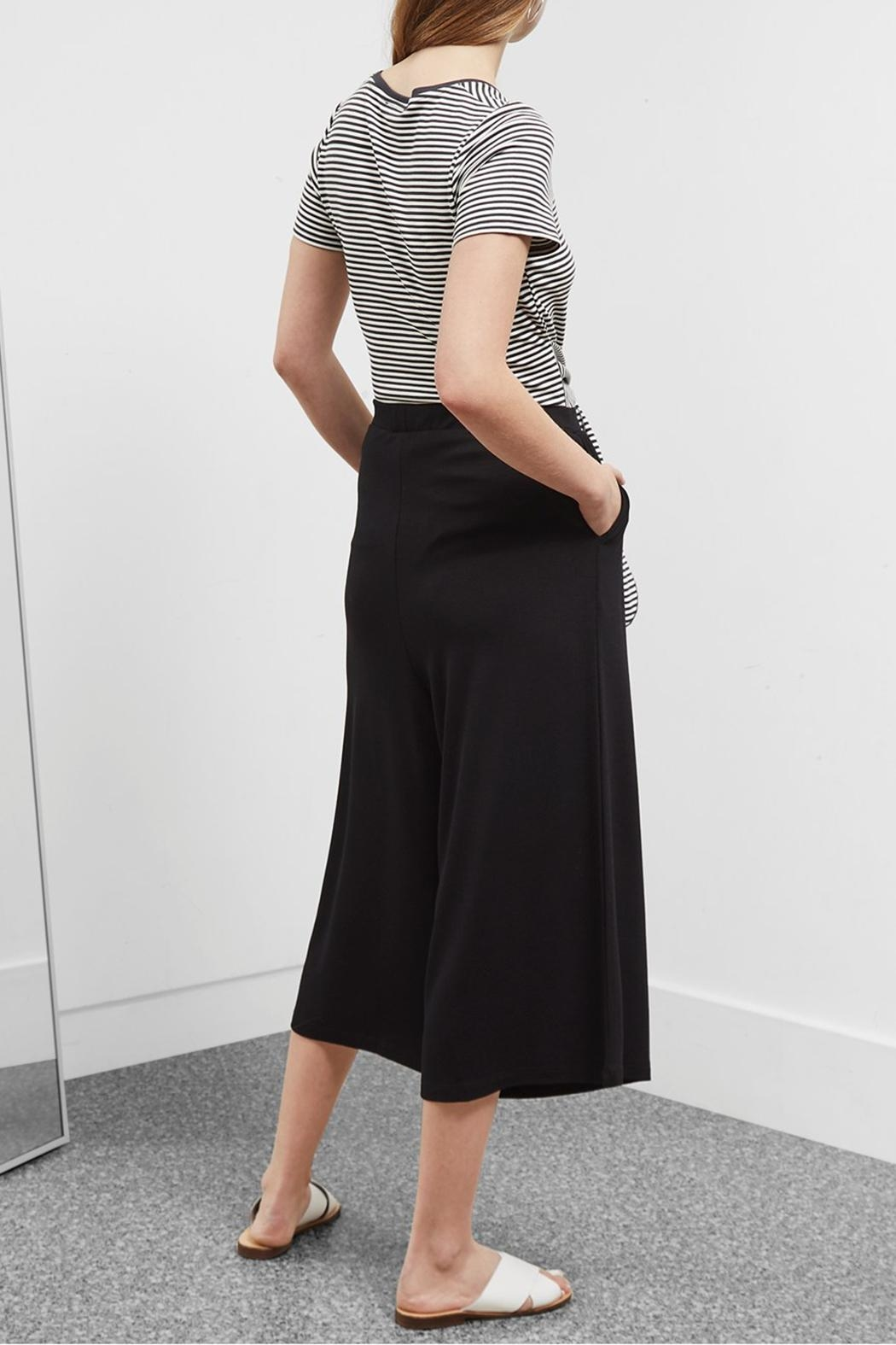 Great Plains Polly Ponte Culottes - Side Cropped Image