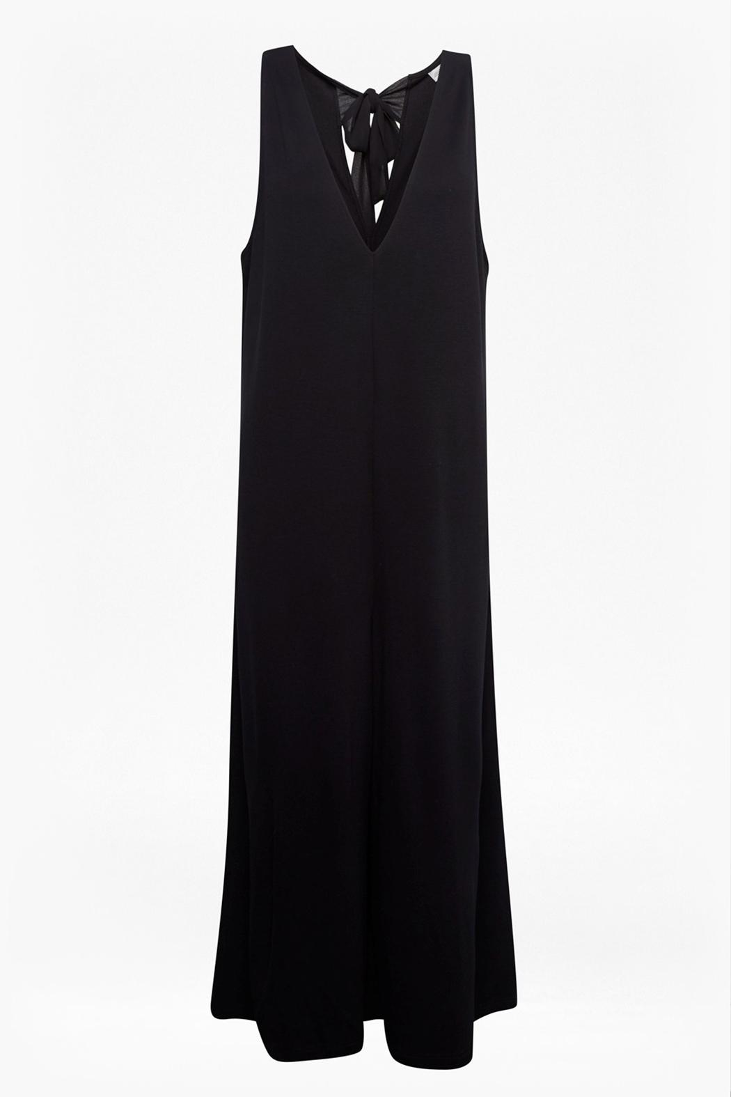 Great Plains Polly Ponte Jumpsuit - Back Cropped Image