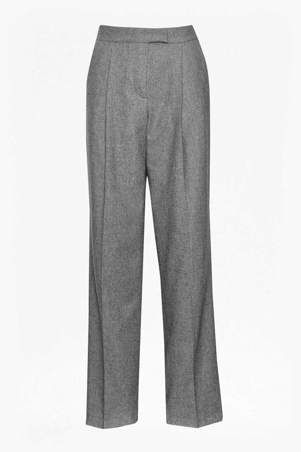 Great Plains Wide Leg Trousers - Back Cropped Image