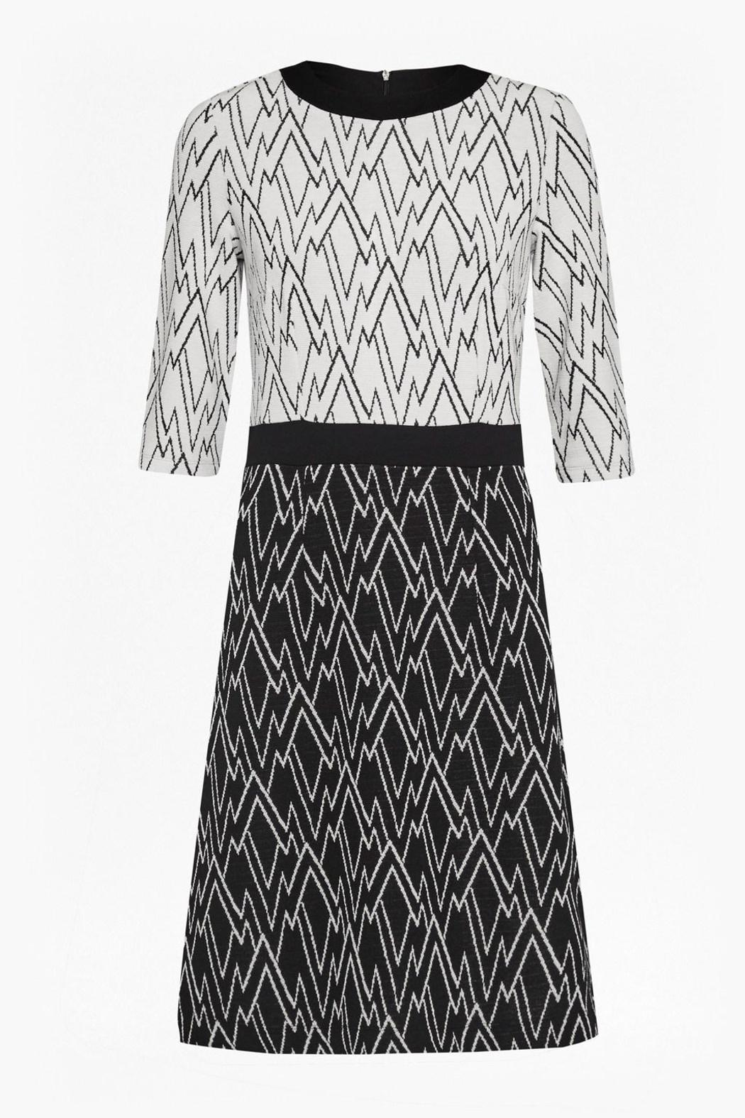 Great Plains Zigzag Dress - Side Cropped Image