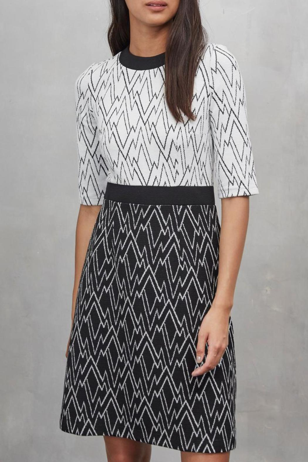 Great Plains Zigzag Dress - Main Image