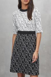 Great Plains Zigzag Dress - Front cropped