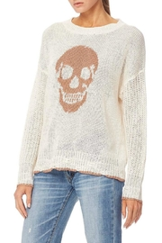 Skull Cashmere Grecia Knit Sweater - Side cropped