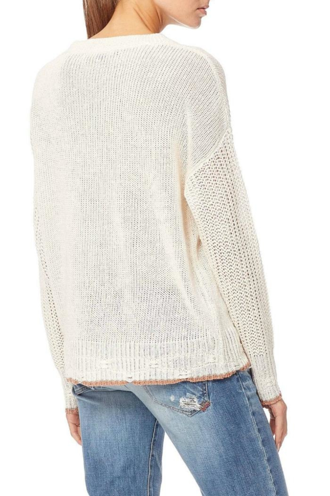 Skull Cashmere Grecia Knit Sweater - Front Full Image
