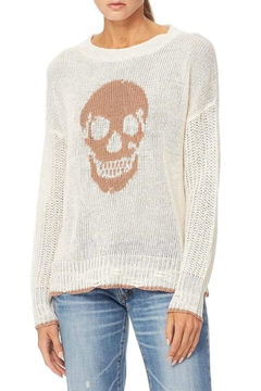Skull Cashmere Grecia Knit Sweater - Product List Image
