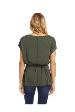 Karen Kane Grecian Tunic, Olive - Alternate List Image