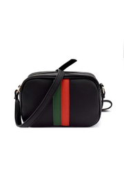 Gift Girl Green and Red Stripe Crossbody - Product Mini Image