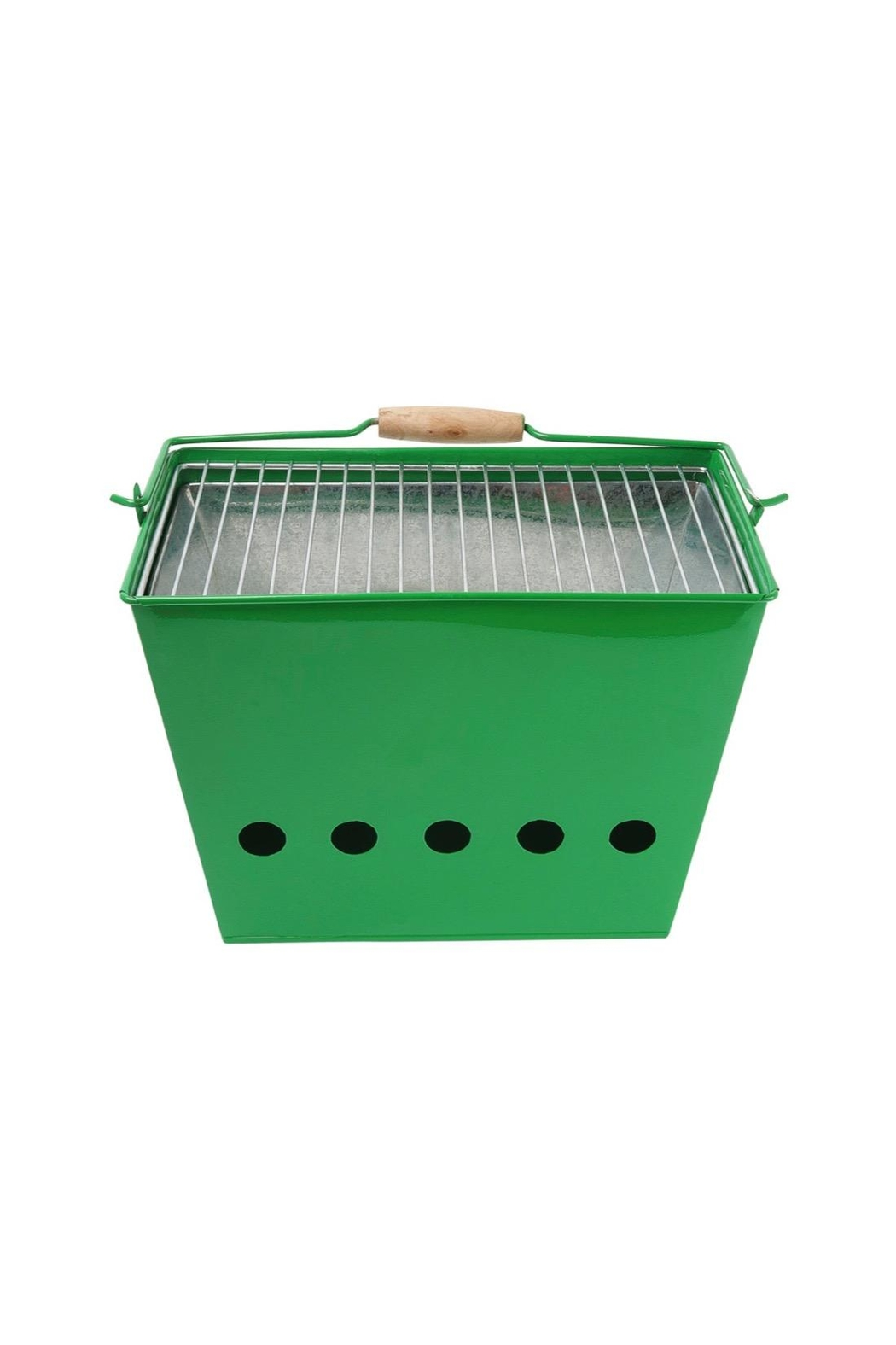 Present Time Green Barbecue Grill - Main Image