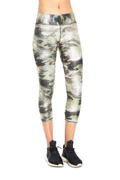 Terez Green Camo Capri - Product List Image