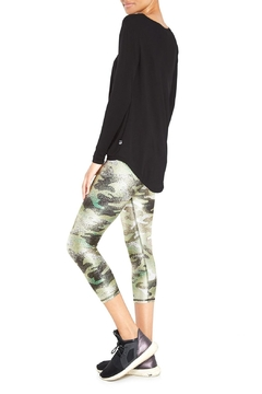Terez Green Camo Capri - Alternate List Image