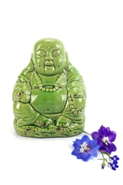 GHome2 Green Ceramic Buddha - Product Mini Image